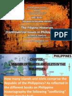 philippinehistorycontroversialissuesbypedrogageloniachapters1-3-160321164122