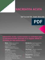 Pancreatita Acuta.cronica.neopancreas