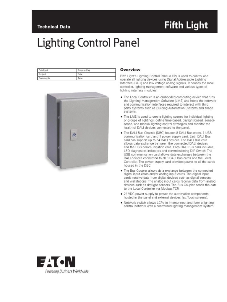 Lcp2 Control Panel Wiring Diagram About Lighting Flt Specsheet Fwb Usb Computer Network Electrical Diagrams
