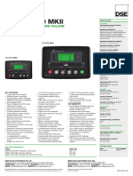 Dse6110 Dse6120 Mkii Data Sheet
