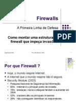 Pensando en Firewalls aq