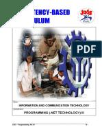 Programming(.Net Technology) NCIII