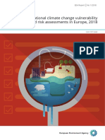 National climate change vulnerability and risk assessments in Europe, 2018