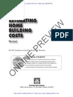 EstimatingHomeBuildingCostsRevised Book Preview