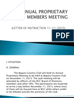 Bcc Annual Proprietary Members Meeting