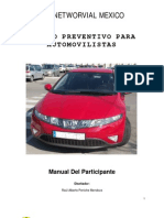 Manual  de Manejo Preventivo para Automovilistas