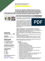 ExtrusionPower Datasheet in Italian
