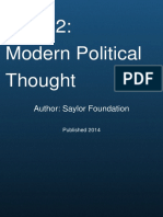 Unit 02 Modern Political Thought by Saylor Foundat the Western