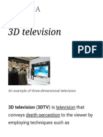 3D Television - Wikipedia