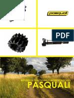 Tarifa de Precios de Repuestos y Recambios Para Tractores y Motocultores Pasquali