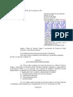 Lei Complementar 90 de 1993 - Plano de Carreira, Cargos e Vencimentos Do Poder Judiciário