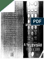 A Televisão Levada à Sério - Arlindo Machado