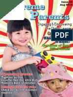Supreme Parents 3rd Newsletter August 2018