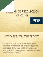 Clase 11 Tecnicas Recoleccion Datos-2