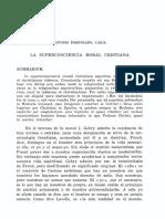 La Superconciencia Moral Cristiana - Antonio Hortolano