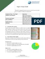 Paper 1 PIE Essay Guide