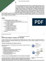 Variador de Velocidad - Wikipedia, La Enciclopedia Libre