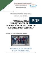 Manual Ético