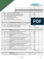 Planilha Orçamentária 06 Salas Com Quadra 220V
