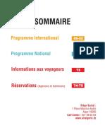 Guide Horaire 25 Mars 27 Octobre 2018