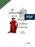 De Muralt, André. La Estructura de La Filosofía Política Moderna Sus Orígenes Medievales en Escoto, Ockham y Suárez. [Trad.] Valentín Fernández Polanco. Madrid Istmo, 2002. Pág. 185.