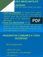 8) Las Sociedades
