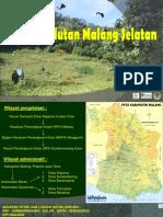 Lanskap Hutan Lindung Malang Selatan