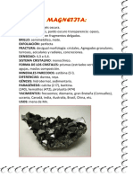 Minerales Santa Lucia
