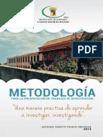 Metodologia Presentacion Trabajos Investigacion