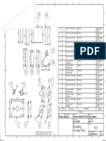 Desenho Das Peças Do Triturador e Quantidade