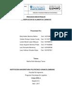 Procesos Industriales Entrega Final