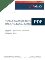 Turbine Governor Testing and Model Validation Guideline.pdf