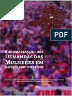 Síntese Propostas Plano Estadual de Políticas para Mulheres MG