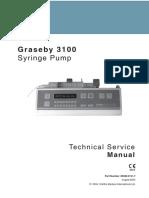 Graseby 3100 Syringe Pump - Service Manual