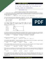 Simulado de Matemática e Português