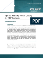 Hybrid Annuity Model for PPP Projects