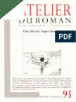 Atelier Du Roman Pourquoi Lukacs