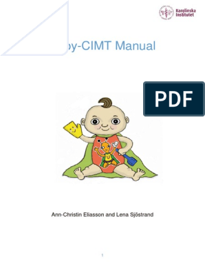 Baby-cimt Manual 20151125 | Toys | Hand