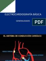ELECTROCARDIOGRAFÍA BÁSICA. GENERALIDADES
