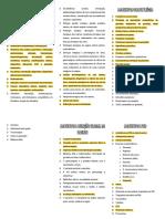 Assuntos de Ginecologia, Obstetrícia, Agd e Ped