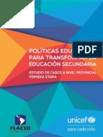 Educacion_UNICEF_Flacso_PoliticasEducativas Para Transformar Educ Secundaria