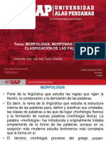 Palabra, Morfología, Clasificación, Variables, Invariables.