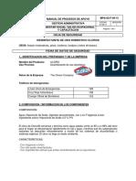 CLOROX (Hipoclorito de Sodio) _THE CLOROX COMPANY.pdf