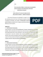 006 Programa Institucional REIT Edital PRPGI Nº 042018