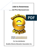 Ebook - Buddhism - Guide To Awareness.pdf