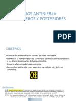 Faros Antiniebla Delantero 1s y Posteriores [Autoguardado]