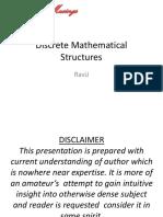 Discrete Algebra