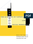 BAUER, Otto - The Question of Nationalities and Social Democracy - Univ of Minnesota Press (2000)
