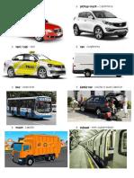 Vehiculos Ingles y Español