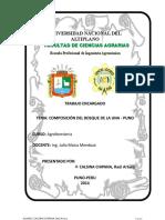 Composicion Del Bosque Una Puno Agroforesteria